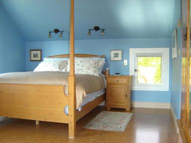 Cork flooring pictures examples of cork flooring for Cork flooring in bedroom
