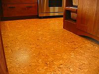 Cork Flooring in the Kitchen