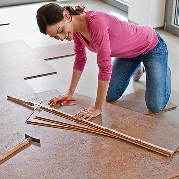 How To Repair A Floating Cork Floor