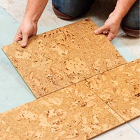 How To Repair A Cork Ttile Floor